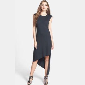 MICHAEL Michael Kors Cap Sleeve Asymmetric Dress